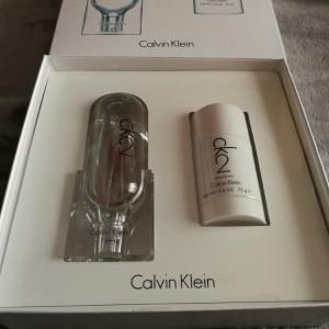 Set Calvin Klein CK2 edt 100ml + deodorant stick 75ml Original !