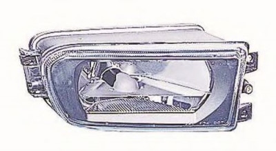 Proiector ceata BMW Seria 5 (E39) (1995 - 2003) DEPO / LORO 444-2003R-UQ foto