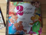 """Carte cu povești captivante """"2 povești clasice"""" editura Girasol"""
