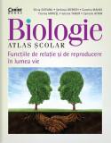 Cumpara ieftin Biologie. Atlas scolar. Functiile de relatie si de reproducere in lumea vie, Corint