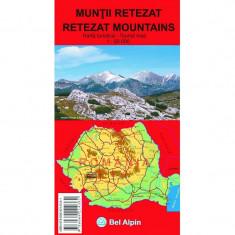 Bel Alpin Harta Muntii Retezat