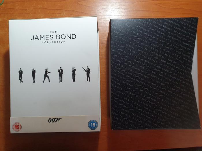 Colectia James Bond - 24 de Filme pe BLU-RAY - nefolosita niciodata,noua