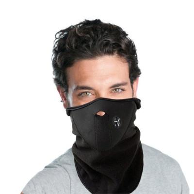 Masca Cagula din Neopren Thermoactive pentru Moto sau Ski, Culoare Negru foto