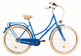 Bicicleta oras Dhs Citadinne 2836 albastru 28 inch