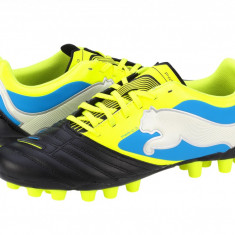 Ghete fotbal Puma PowerCat 3 r MG black-yellow-white-blue 10279703