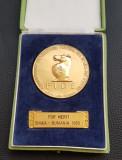 Medalie 1965 Pentru merite - Sah - Sinaia - Romania