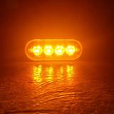 Stroboscop 4 led ,Led 3W,