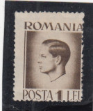 1945  LP 187 MIHAI I   EROARE    DANTELURA
