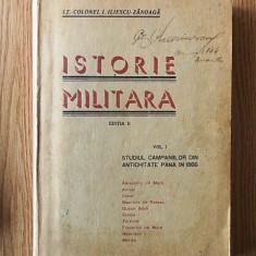 ISTORIE MILITARA- ILIESCU ZANOAGA- VOL I -contine harti/1943