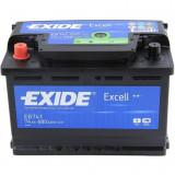 Baterie auto Excell 74Ah, 680A, 60 - 80, Exide