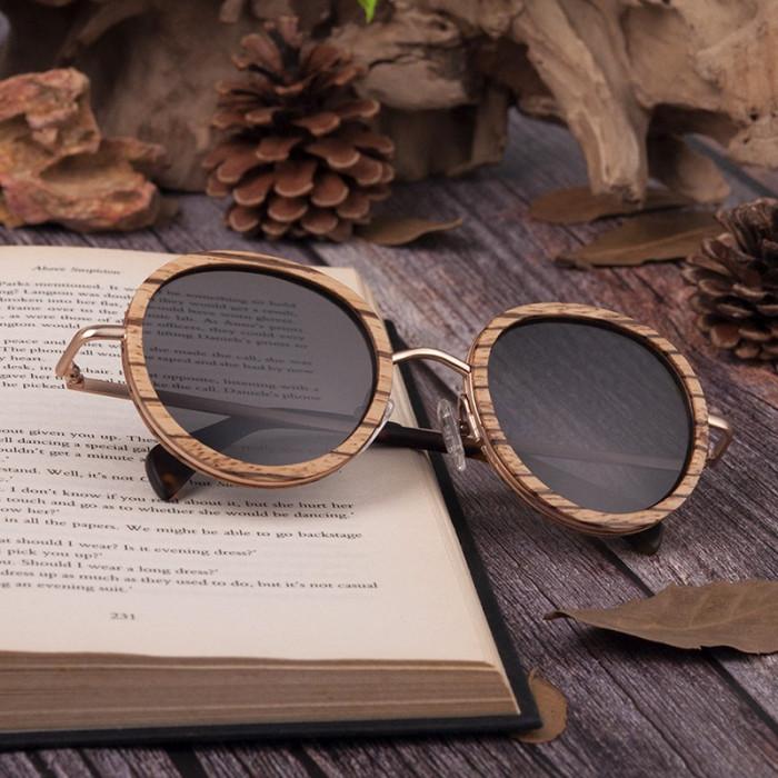 Ochelari de soare Bobo Bird, lentila rotunda