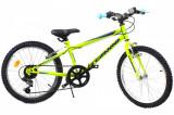 Bicicleta copii Dhs 2021 verde deschis 20 inch
