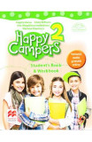 Happy Campers 2. Student's Book and Workbook - Angela Llanas