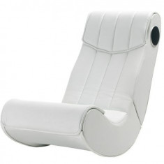 Scaun gaming Rocker Basic White