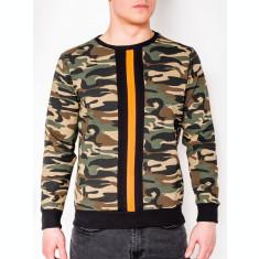 Bluza barbati B808 - verde-camuflaj
