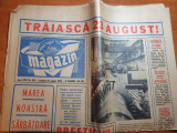 magazin 18 august 1973-traiasca 23 august,ilie nastase lider marele premiu FILT