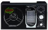 Radio Portabil Leotec LT801MARO, 12 benzi fm/mw/sw1-9, mufa jack 3.5 mm (Negru)
