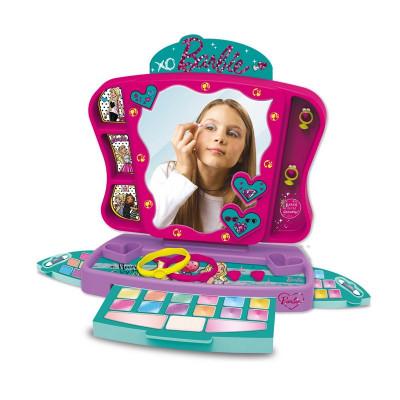 Trusa machiaj pentru fetite Barbie Princess, accesorii incluse, 3 ani+ foto