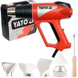 Pistol aer cald + accesorii 2000W Yato YT-82291