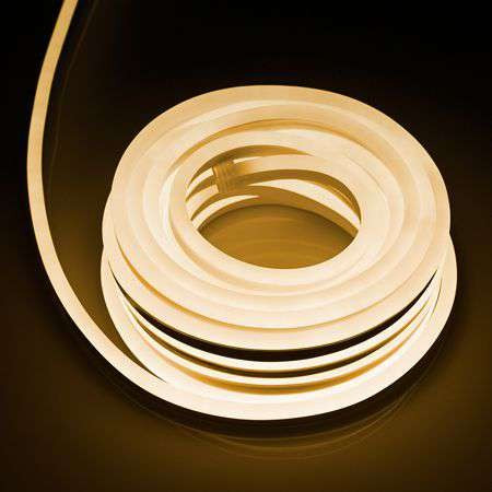 Led flexibil mini neon 3000k 6.9w 10m