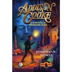 Addison Cooke si mormantul lui Genghis - Han