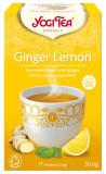 Ceai Bio GHIMBIR si lamaie, 30.6gr Yogi Tea