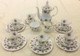 Set - ceai / cafea - portelan Englezesc - Royal Albert - Sweet Violets - 6 pers