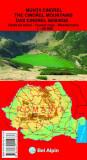 Das Cindrel Gebirge / Muntii Cindrel - Wanderkarte / Harta turistica 1 : 60 000