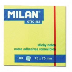 Bloc notes adeziv galben office