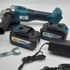 flex polizor unghiular pe baterii 125