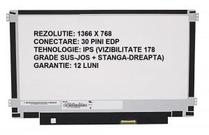 Display laptop nou IPS 11.6 slim 30 pini compatibil Innolux N116BCA-EB1 prindere stanga/dreapta