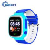 Ceas Smartwatch Pentru Copii Twinkler TKY-Q90 cu Functie Telefon, Localizare GPS, Pedometru, SOS - Albastru