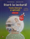 Cumpara ieftin Start la lectură! Texte literare și aplicații. Clasa IV