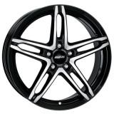 Jante VOLVO S60 7J x 16 Inch 5X108 et48 - Alutec Poison Diamant-schwarz-frontpoliert - pret / buc, 7, 5