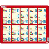 Cumpara ieftin Puzzle Adunarea 1 - 10C, 10 Piese Larsen LRAR13 B39016848