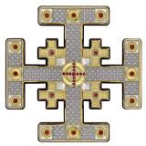 Crucea de la Ierusalim Argint 12.5×12.5cm COD: 3277