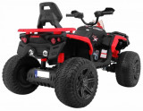 Atv electric cu roti din cauciuc 12V Nichiduta Hunter Pro Red