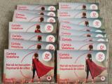 Pachet 10 Cartele Vodafone numere aleatorii NOI SIGILATE numar cartela SIM mobil