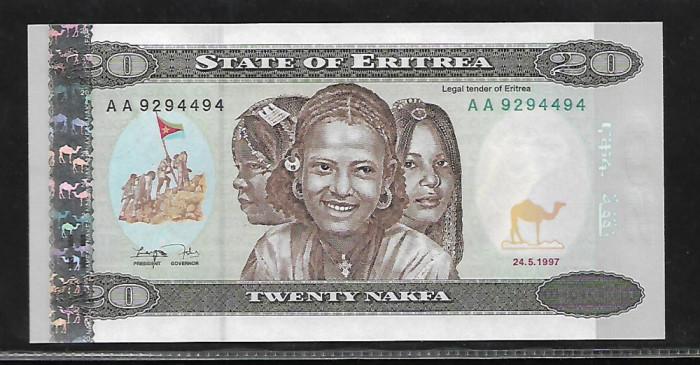 Eritrea   20  Nafka 1997 -UNC