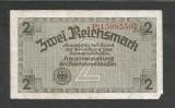 GERMANIA  NAZISTA  2 MARCI  REICHSMARK  1940 [53]  P- 137b , 8 cifre  , Litera P