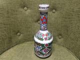 STICLA METAXA DIN PORTELAN cu dop porcelain hand made in greece S&E&A grecia