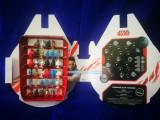 Coletie completa 34 Figurine stikeez STAR WARS. Set complet, la cutie