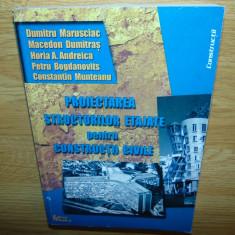 PROIECTAREA STRUCTURILOR ETAJATE PENTRU CONSTRUCTII CIVILE ED.TEHNICA ANUL 2000