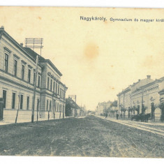 5068 - CAREI, Satu-Mare, Romania - old postcard - used - 1917