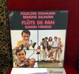 Disc vinil Benone Damian & Flûte de pan - Simion Stanciu, Franta
