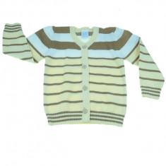 Cardigan maneca lunga pentru baieti Carter's Baby TR-003M, Multicolor