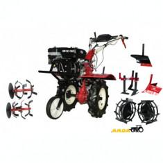 Motocultor SR1Z-100 , Roti Metalice, Plug Arat, Rarita Reglabila, Prasitoare