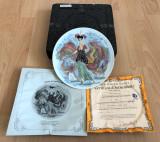 Farfurie - Limoges - Les Femme du Siecle - Albertine - 1976 - certificat