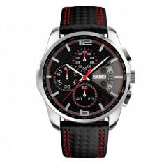 Ceas Skmei sport cronograf 9106CL, negru