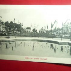 Fotografie Expozitia 1906 Bucuresti  -Vedere dinspre Poarta Principala